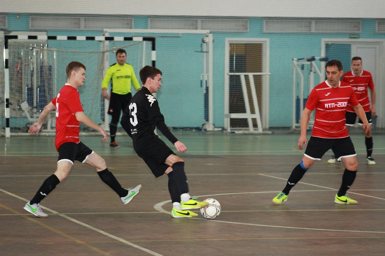 Мини-футбольный «АТП-2005» разгромил «Мир Шин» в районном чемпионате