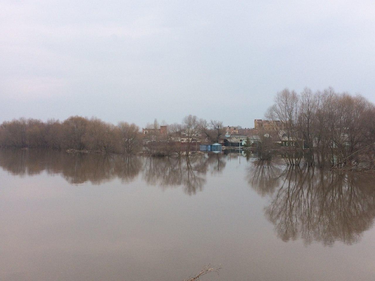 ВБалашове из-за паводка введен режимЧС