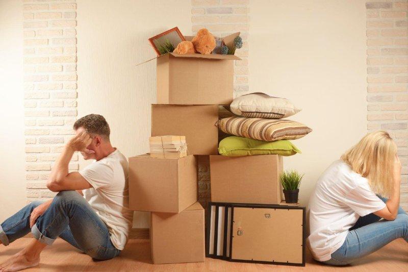 как разделить мебель при разводе