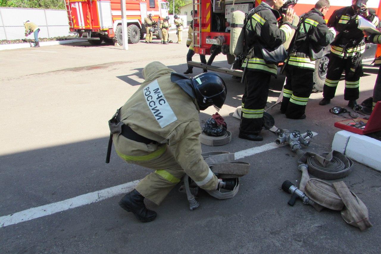 В Балашове прошли пожарно-тактические учения. Фото, видео